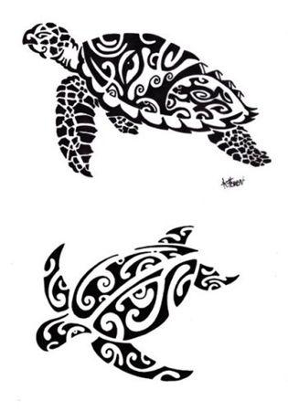 Tatuaje tortuga maorí                                                                                                                                                     Más