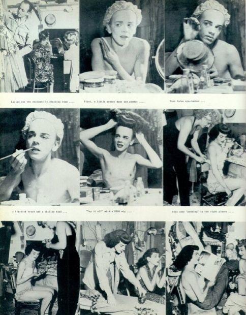 Vintage Drag Queens | Process | Behind-the-Scenes