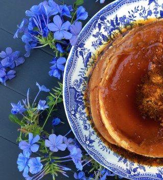 ¡No te pierdas esta receta de flan de queso! Una deliciosa mezcla del tradicional flan y la tarta de queso. ¡Riquísimo!