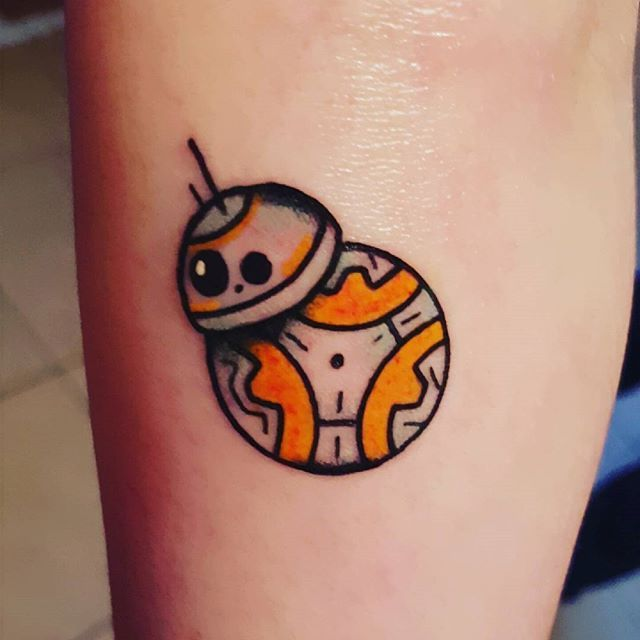 Pin for Later: 20 Tiny Star Wars Tattoo Ideas Perfect For Any Fan of the Force BB-8