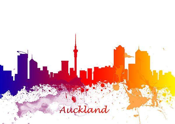 Skyline of Auckland New Zealand - Chris Smith