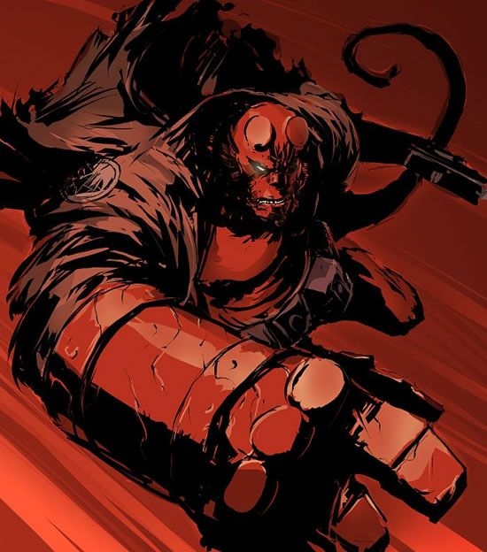 Comic Character Inspiration: Hellboy