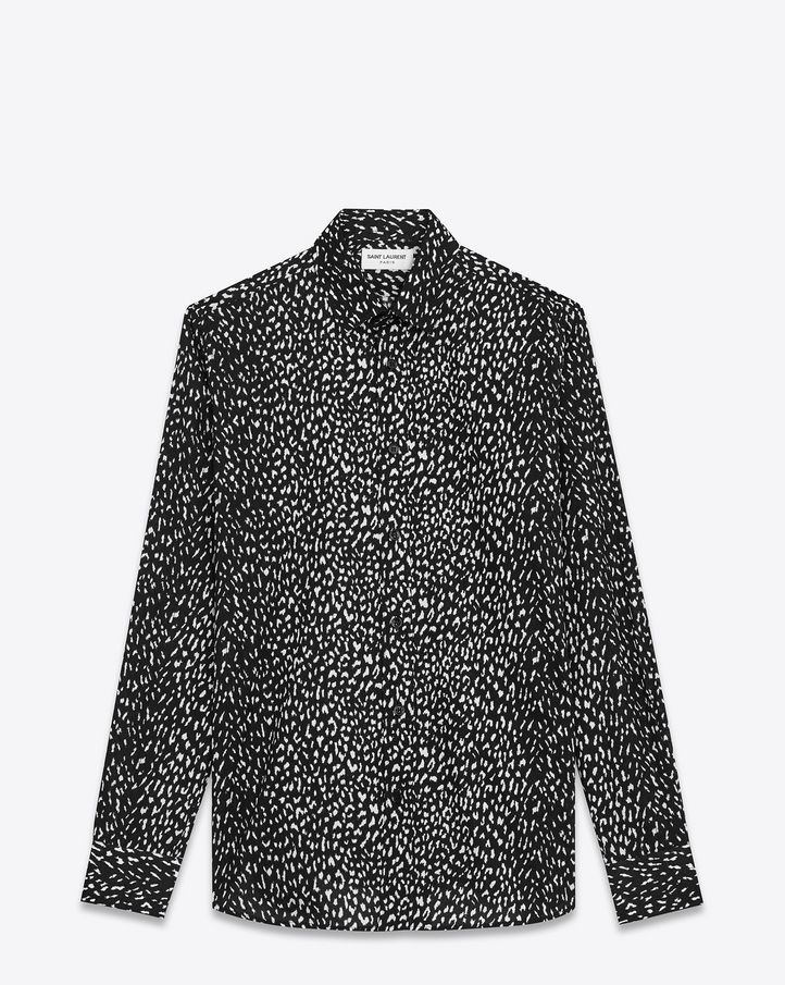 Saint Laurent Casual Shirts: discover the selection and shop online on YSL.com
