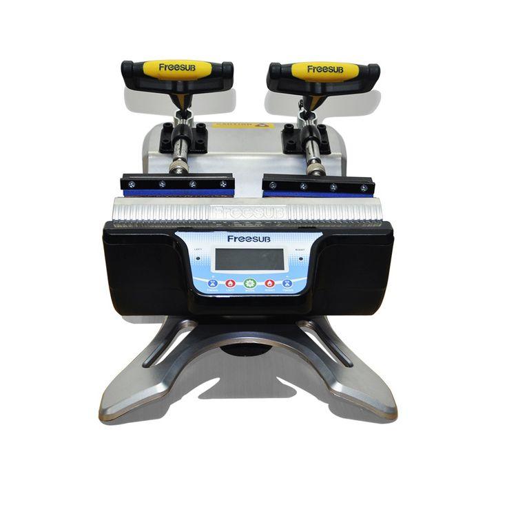 Double Station Mug Press Heat Press Machine Mug Cup Sublimation Transfer Printing #Affiliate