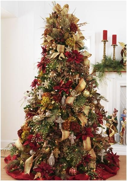 70 best christmas trees decorated images on pinterest for Fancy xmas decorations