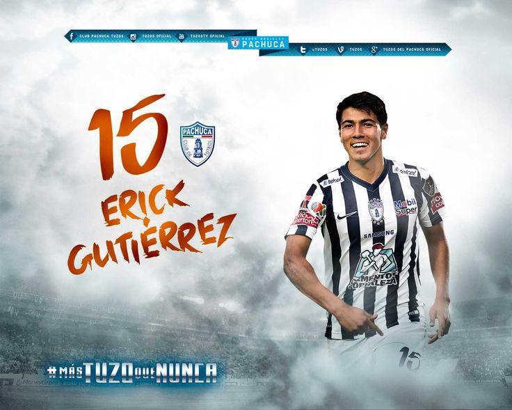 "15. Erick Gutiérrez ""El Guti"" MEDIO"