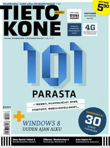 Intunex was ranked 3rd in the list of interesting technology startups in Finland by Tietokone Magazine issue 10/2012. http://intunex.fi/2012/11/17/intunex-was-ranked-3rd-in-tietokone-magazines-list-of-interesting-technology-startups-in-finland/