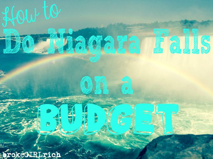 How to Do Niagara Falls on a Budget #traveltips #newyork #canada
