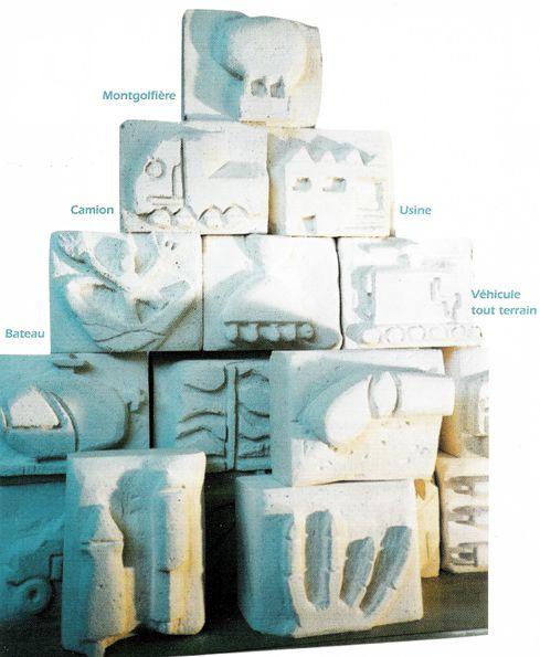 Un mur de sculptures | Coop'ICEM