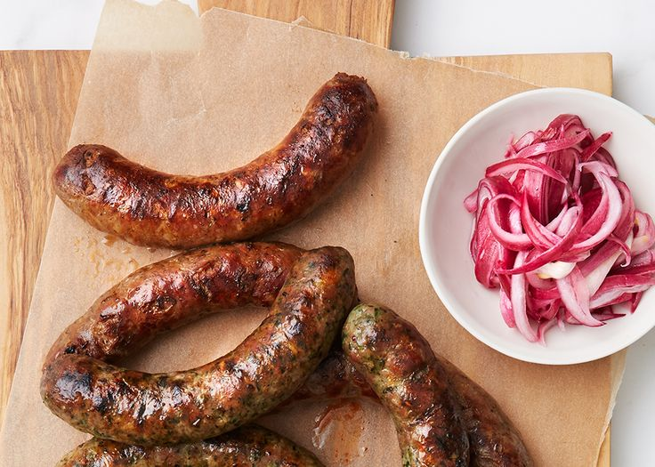 Lamb Masala Sausage - Bon Appétit