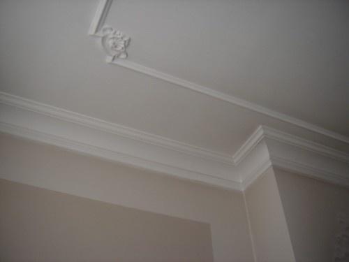 Ornamenten en kroonlijsten plafond