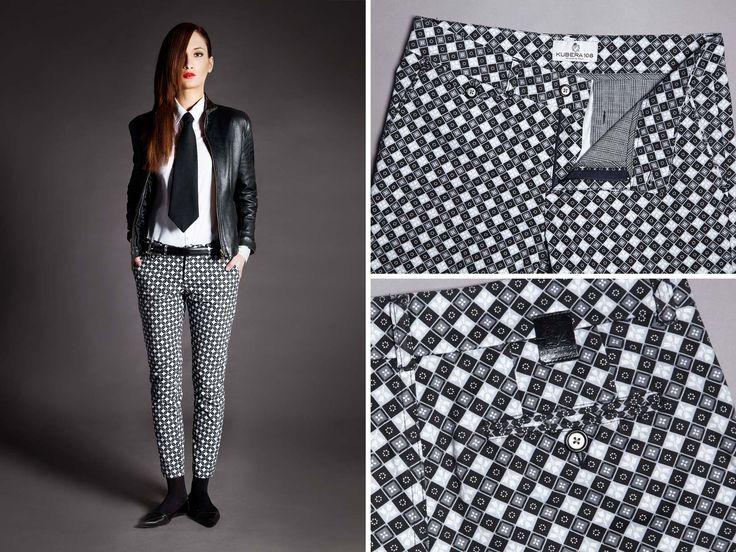 #pants #quadrettino #microdisegno #pattern