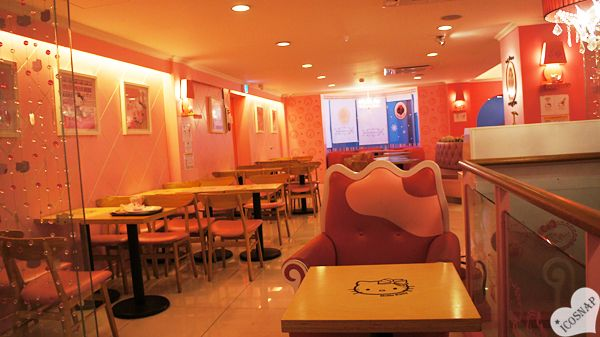 Hello Kitty Cafe Hongdae Seoul South Korea kawaii