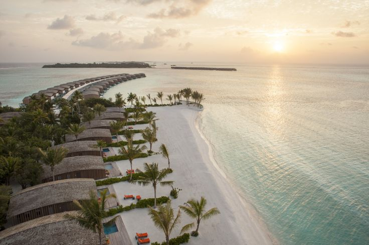 This is paradise! Club Med Kani, in the Maldives, is always a great honeymoon or anniversary, all-inclusive resort.