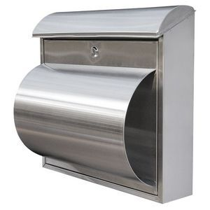 Postmaster Wall Mounted Letterbox Stainless Steel