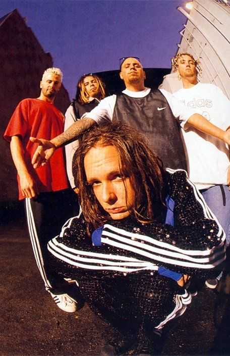 A young KoRn. Where did all the time go?! 12× Loyal fan since it started!!!!