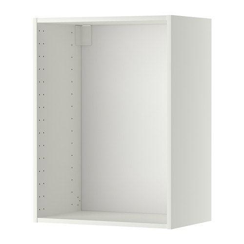 Best Metod Wall Cabinet Frame White 60X37X80 Cm Ikea 400 x 300