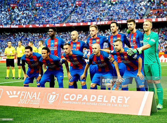BARCELONA Campeón de la Copa del Rey 2016-17