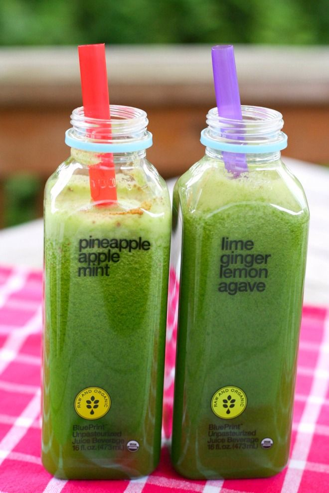 KraZy Kiwi Juice   {on the GO in recycled BluePrint Juice bottles}