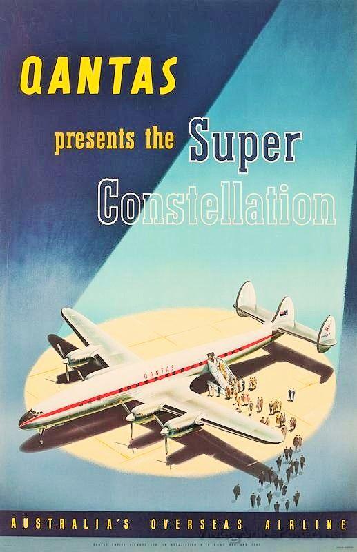 Qantas - The Constellation's Arrive