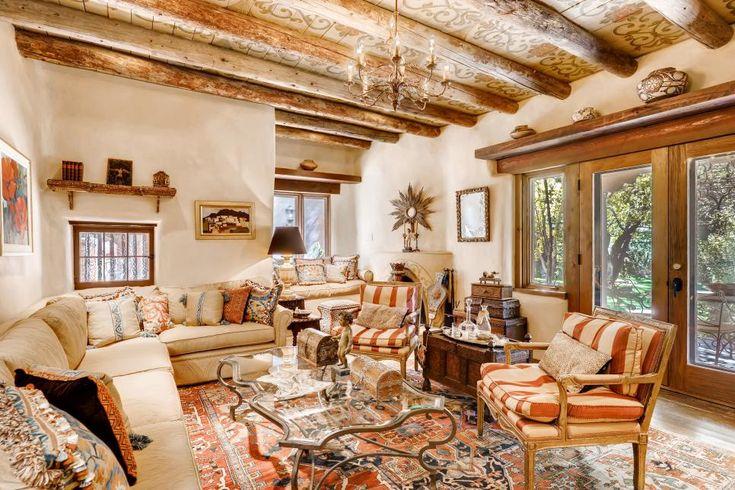 Historic Adobe-Style Home in Santa Fe, N.M. | 2019 HGTV's ...