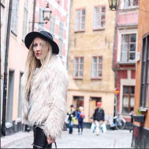 Fashionfusionjennie in Rockandblue Mistal faux fur