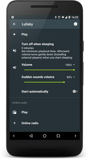 Sleep Lullaby Add-on v2.4   Sleep Lullaby Add-on v2.4Requirements:Android 1.5 and upOverview:Feature that helps you fall asleep in a faster and fun way. With use of real-time synthesized lullabies rather then fixed recordings.  Add-on for Sleep as Android and Mindroid.  Lullabies is a feature of the Sleep as Android alarm clock and sleep cycle tracker which help to fall asleep in a faster and fun way. Rather that fixed recordings our lullabies are real-time synthesized this means each…