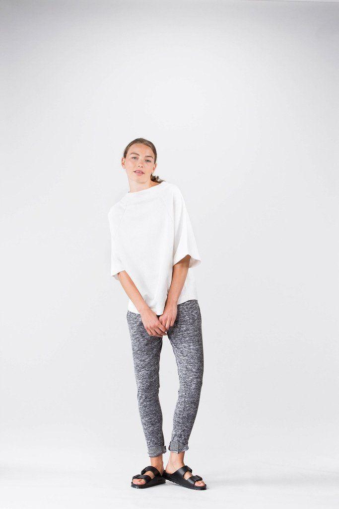 Wemoto Mia joggers - Grey melange