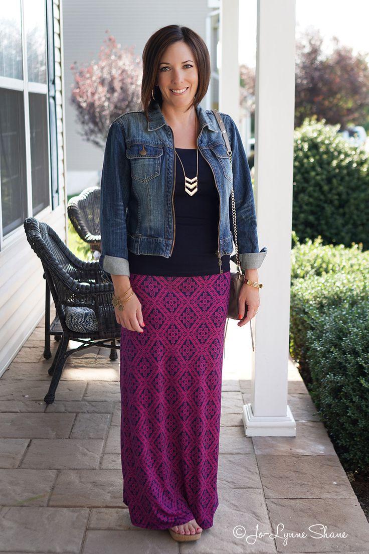 Alternatives to Shorts: Maxi Skirt