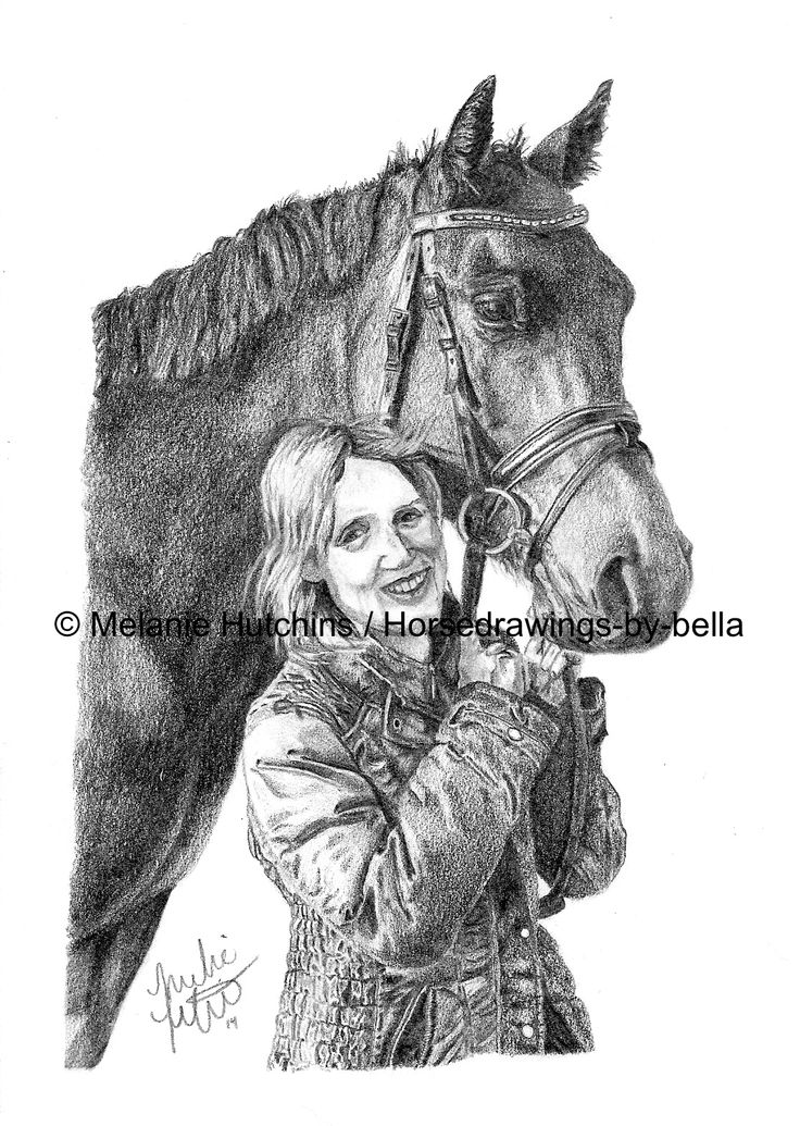 Portrait of a Woman and her horse. Check out the speed drawing here: https://www.youtube.com/watch?v=RWUNwvj-yB8&list=UUZDEjNKuowAo92BhnMWWBzA Copyright Melanie Hutchins / Horsedrawings-by-bella  Follow me on Facebook: https://www.facebook.com/Horsedrawingsbybella.MelanieHutchins Twitter: https://twitter.com/MelHTheArtist YouTube: https://www.youtube.com/channel/UCZDEjNKuowAo92BhnMWWBzA