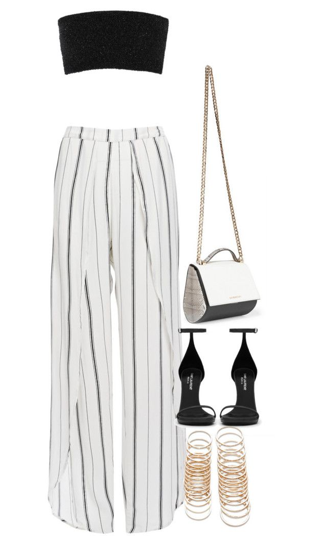 """""""Sem título #1395"""" by oh-its-anna ❤ liked on Polyvore featuring Faithfull, Calvin Klein Collection, Yves Saint Laurent, Givenchy and Forever 21"""