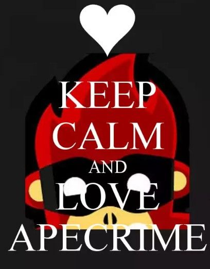 Keep calm and love Apecrime<3