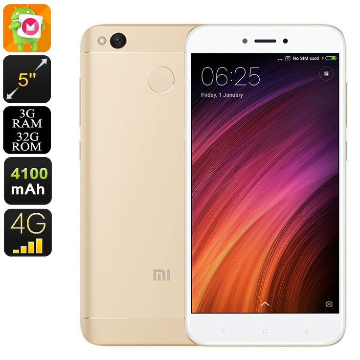 Android Phone Xiaomi Redmi 4X (32GB Gold)  FAST DELIVERY 3-7 DAYS #bigpuppa #PopularGadgets #wholesaleElectronics#Watches #Mobiles #BluetoothSpeakers #MP3 #LEDlights