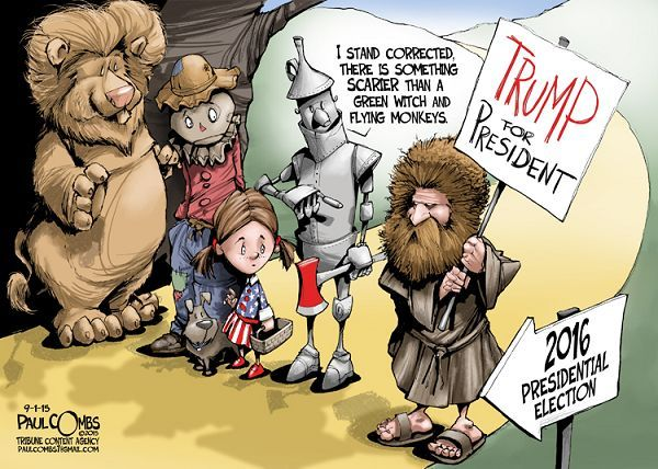 Image result for cartoon donald trump shakespearean tragedy