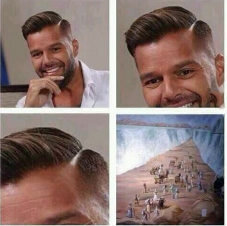 Who cut your hair? Moses?