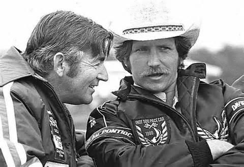 Bobby Allison and Dale Earnhardt