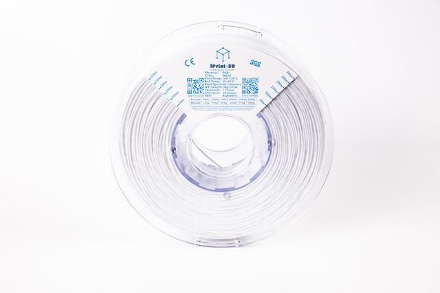 White PLA Premium 3D Filament