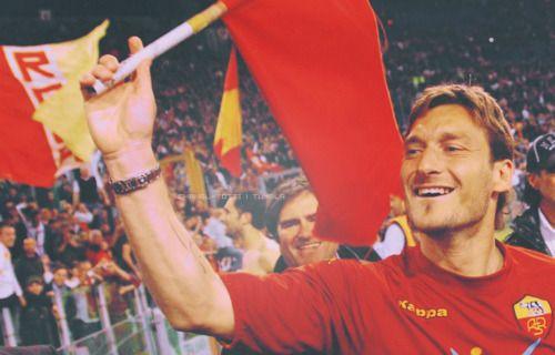No Totti, no party!  ♥