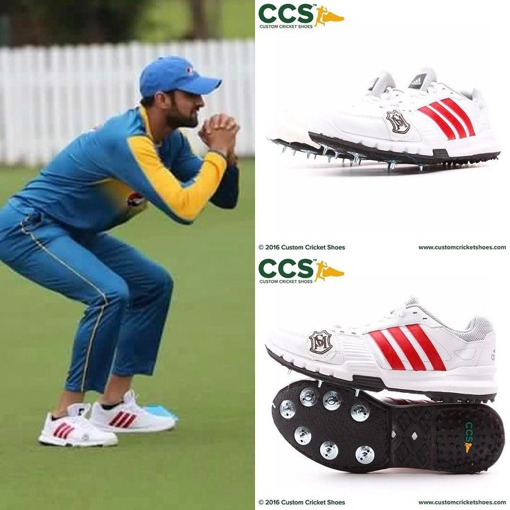 Shoaib Malik always look good in his #customcricketshoes #cricket #legend @realshoaibmalik