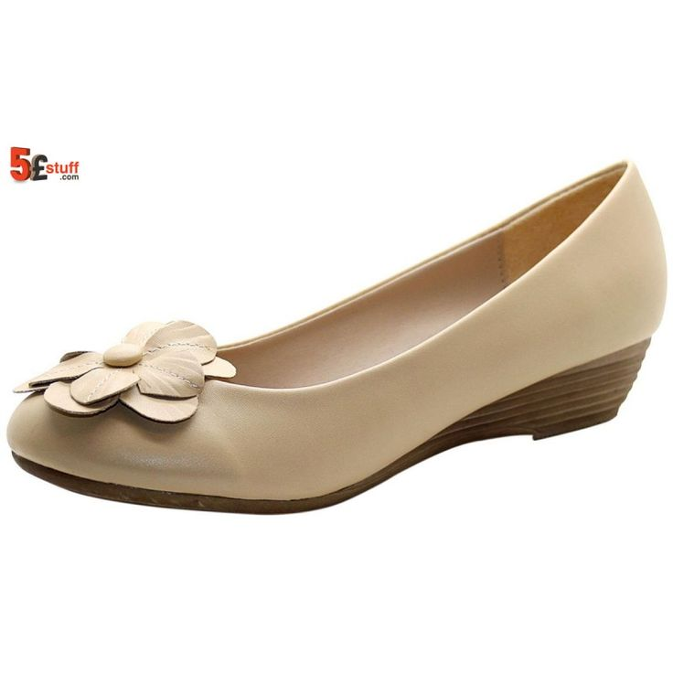 #Shoes are the finishing touch on any outfit and it is important to complete a look with the perfect pair 👇 https://www.5poundstuff.com/ladies-flower-casual-pumps-beige.html?utm_content=buffer5b2c0&utm_medium=social&utm_source=pinterest.com&utm_campaign=buffer