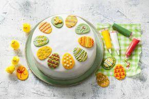 Fantastische bezigheid met de kids: deze feesttaart bakken. Je hebt geen kind aan ze - Recept - Allerhande