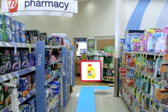 Walgreens Tests Google's Augmented Reality for Loyalty App