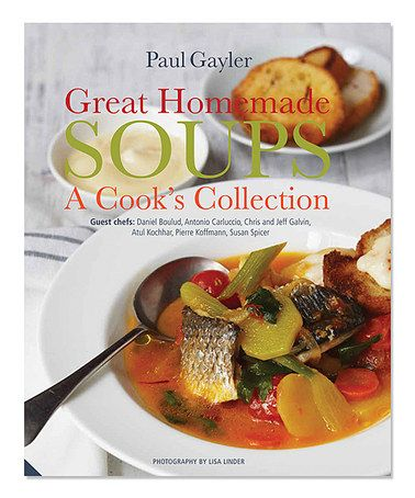 Loving this Great Homemade Soups Cookbook on #zulily! #zulilyfinds