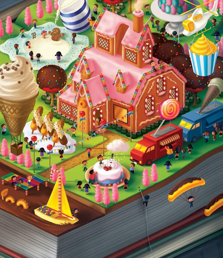 The Candy Mansion by bramLeech on DeviantArt