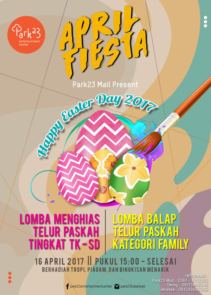 """APRIL FIESTA """" HAPPY EASTER_EVENT """""""