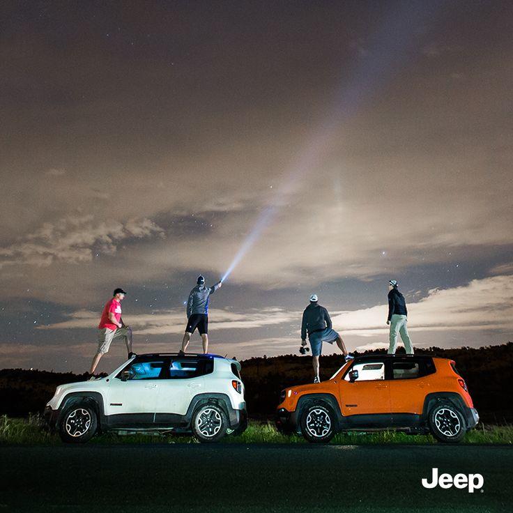 Uwielbiamy odkrywać piękno otaczającego nas świata. #Jeep #JeepLife #JeepRenegade