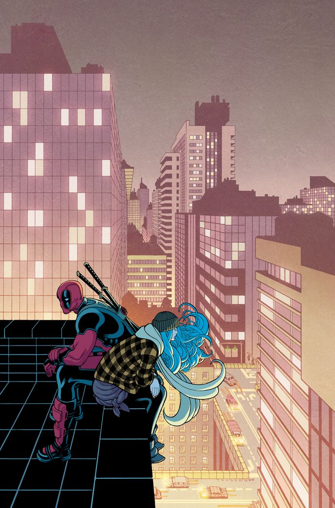 Deadpool #20 Cover by Tradd Moore (lines) and Matt Wilson (colors)