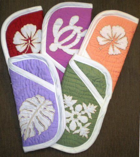 Hawaiian Quilt Eyeglass Case by REG. $19.49. Hawaiian Apparel or Accessories make a great gift for that special someone!. This beautiful eyeglass case measures 6 inches by 3 inches. It is made of soft quilt material. The patterns and colors vary from the manufacturer! Five eyeglass cases are pictured to display some of the variety available. Eyeglass cases are sold individually. Contact the seller for a specific request or let us make the selection for you.