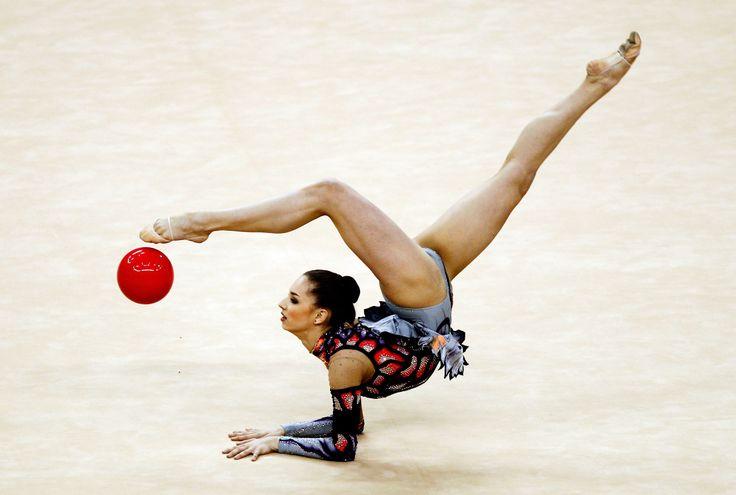 FIG Rhythmic Gymnastics Olympic Qualification - LOCOG Test Event for London 2012: Day Three