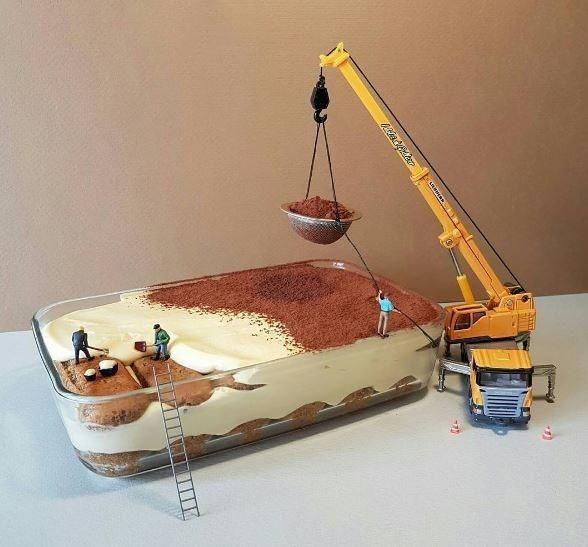I dolci di Gulliver: Ein italienischer Konditor kreiert die süßesten Baustellen